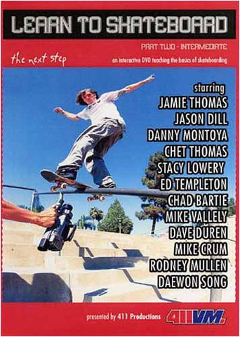 Learn To Skateboard: The Next Step - Part Two -Intermediate DVD Movie
