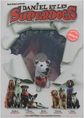 Daniel et les Superdogs DVD Movie