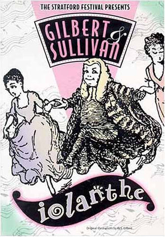 Gilbert and Sullivan - Iolanthe (White Cover) DVD Movie
