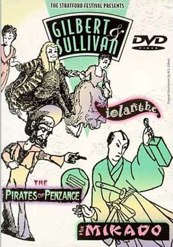 Gilbert And Sullivan Collection - The Mikado / Iolanthe / The Pirates of Penzance DVD Movie