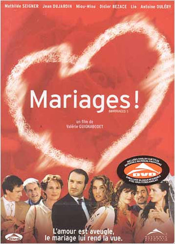 Mariages! / Marriages!(Valerie Guignabodet) (Bilingual) DVD Movie