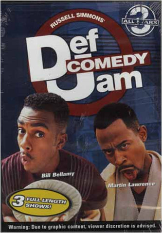 Def Comedy Jam - All Stars 3 DVD Movie
