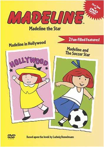 Madeline - Madeline The Star-Madeline In Hollywood / Madeline and The Soccer Star DVD Movie