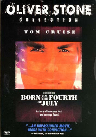 Born on the Fourth of July - Oliver Stone Collection (Snapcase) DVD Movie