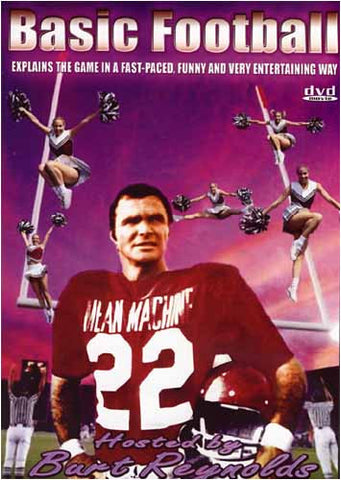 Basic Football hosted by Burt Reynolds DVD Movie