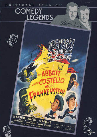 Abbott and Costello - Meet Frankenstein DVD Movie