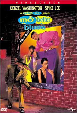 Mo' Better Blues DVD Movie