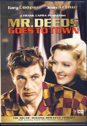 Mr. Deeds Goes to Town DVD Movie