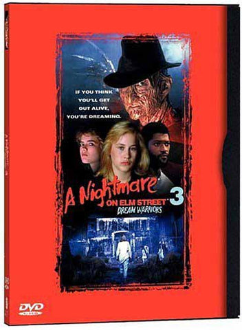 A Nightmare on Elm Street 3 - Dream Warriors (Widescreen And Fullscreen) DVD Movie