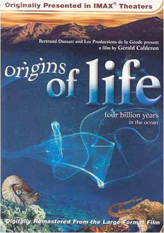 Origins of Life - Four Billion Years in the Ocean (Large Format - IMAX) DVD Movie
