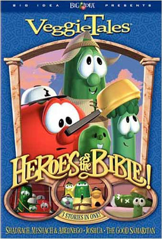 VeggieTales - Heroes of the Bible - Stand Up, Stand Tall, Stand Strong DVD Movie