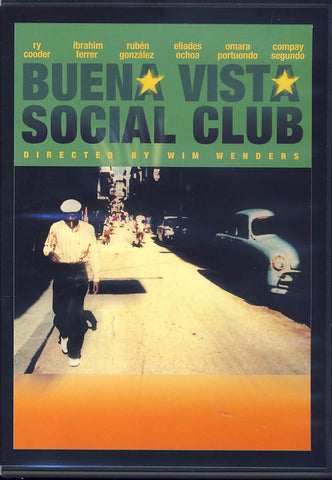 Buena Vista Social Club DVD Movie