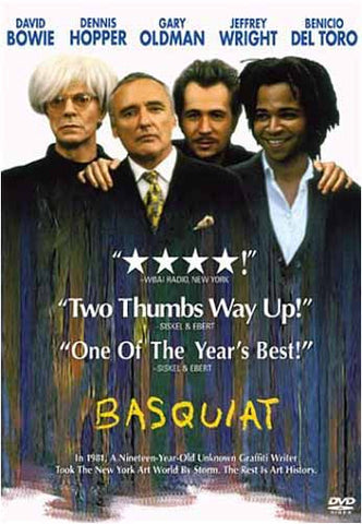 Basquiat (Bilingual) DVD Movie