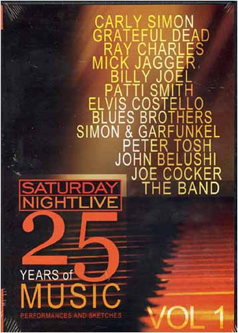 Saturday Night Live - 25 Years of Music - Vol. 1 DVD Movie