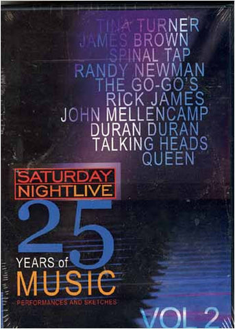 Saturday Night Live - 25 Years of Music - Vol. 2 DVD Movie