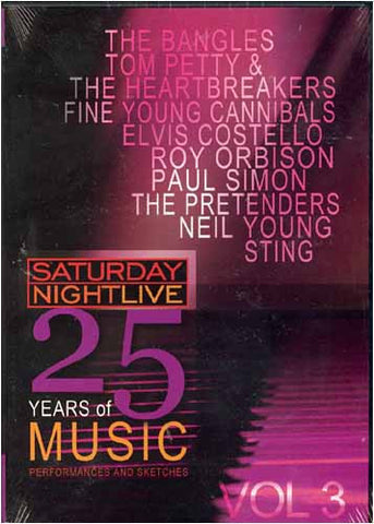 Saturday Night Live - 25 Years of Music - Vol. 3 DVD Movie
