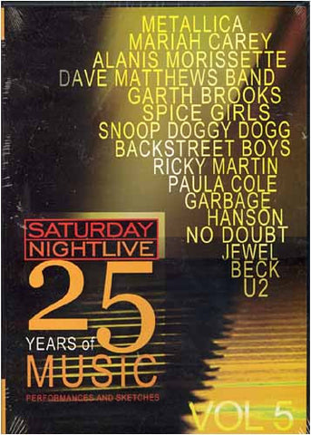 Saturday Night Live - 25 Years of Music - Vol. 5 DVD Movie