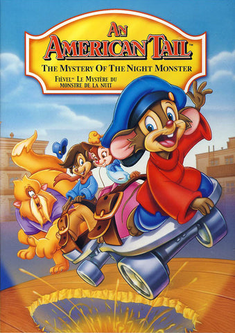 An American Tail - The Mystery of the Night Monster (Bilingual) DVD Movie