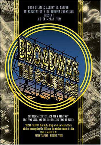 Broadway - The Golden Age DVD Movie
