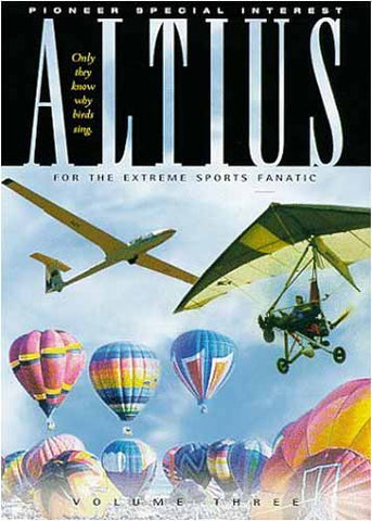Altius - On Air Extreme Sports 3 DVD Movie