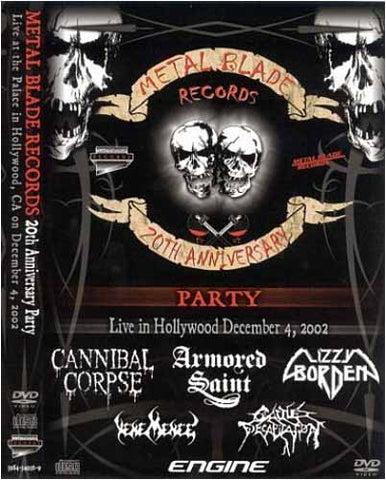 Metal Blade Records: 20th Anniversary Party Live DVD Movie