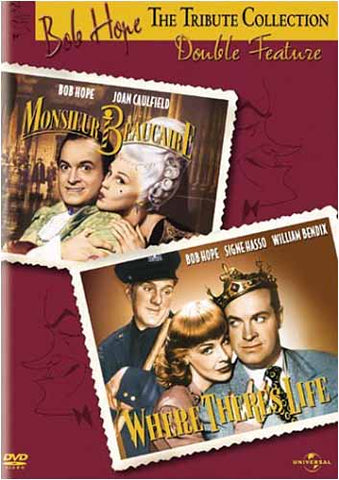 Bob Hope Tribute Collection - Monsieur Beaucaire / Where There s Life (Double Feature) DVD Movie
