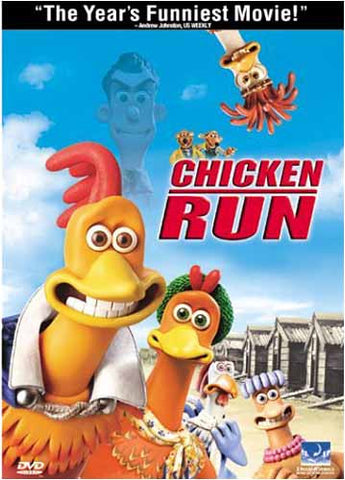 Chicken Run DVD Movie