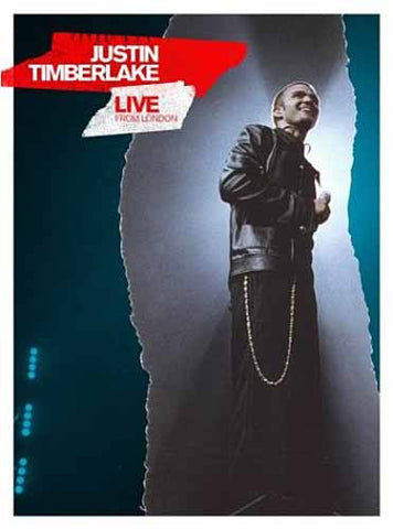 Justin Timberlake - Live From London DVD Movie