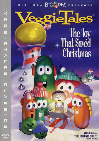 VeggieTales - The Toy That Saved Christmas DVD Movie