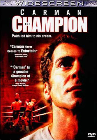 Carman - The Champion DVD Movie
