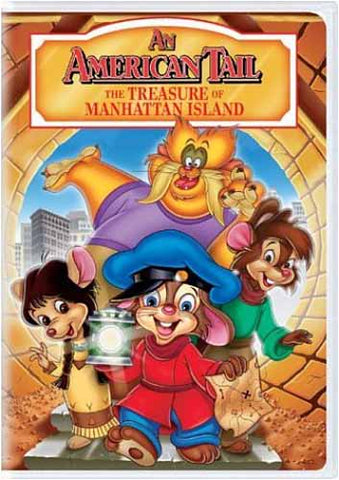 An American Tail - The Treasure of Manhattan Island DVD Movie