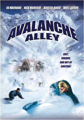 Avalanche Alley DVD Movie