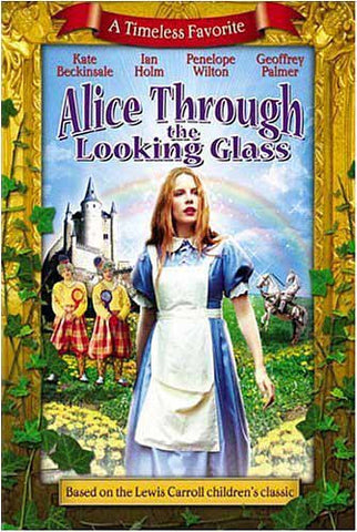 Alice Through the Looking Glass DVD Movie
