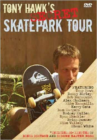 Tony Hawk's Secret Skatepark Tour DVD Movie