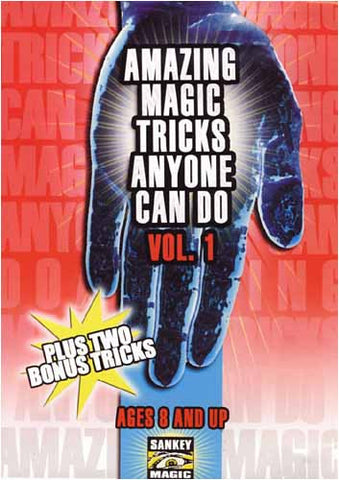 Amazing Magic Tricks Anyone Can Do - Vol.1 DVD Movie
