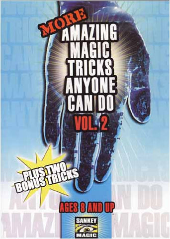 More Amazing Magic Tricks Anyone Can Do(Vol.2) DVD Movie