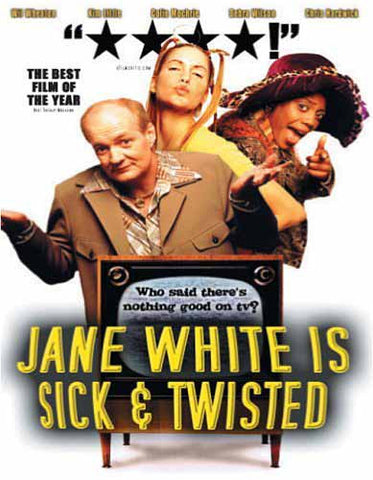 Jane White is Sick and Twisted DVD Movie