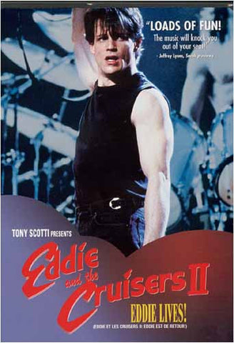 Eddie and the Cruisers II (2): Eddie Lives! (Bilingual) DVD Movie
