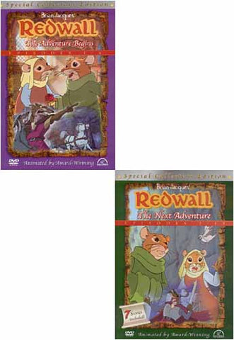 Redwall - The Adventure Begins (Episode 1-6) / The Next Adventure (Episode 7-13) (2 Pack) (Boxset) DVD Movie