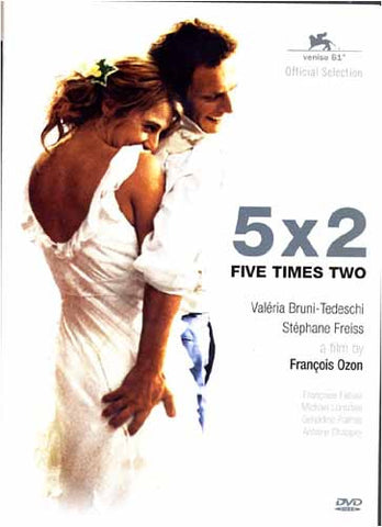 5x2 Five Times Two / Cinq Fois Deux DVD Movie