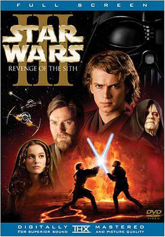 Star Wars Episode III - Revenge of the Sith (2-Disc Full Screen) DVD Movie