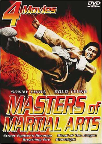 Masters Of Martial Arts (Boxset) DVD Movie