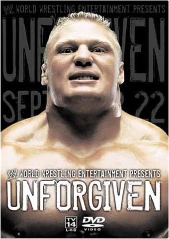 Unforgiven (September 22, 2002) (WWE) DVD Movie