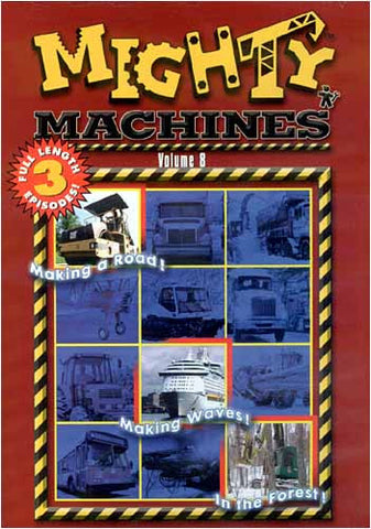 Mighty Machines, Vol. 8 DVD Movie
