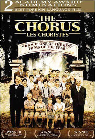 The Chorus / Les Choristes (Bilingual) DVD Movie