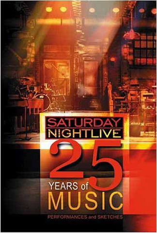 Saturday Night Live - 25 Years of Music (Boxset) DVD Movie