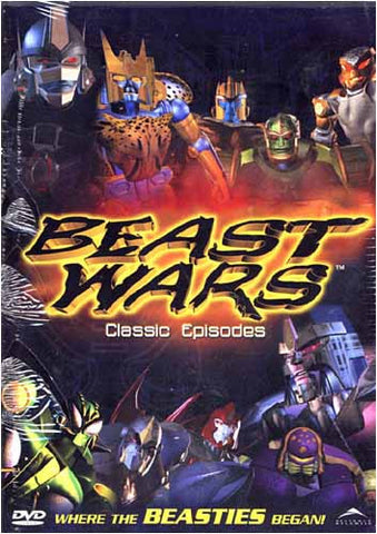 Beast Wars Transformers - Classic Episodes DVD Movie