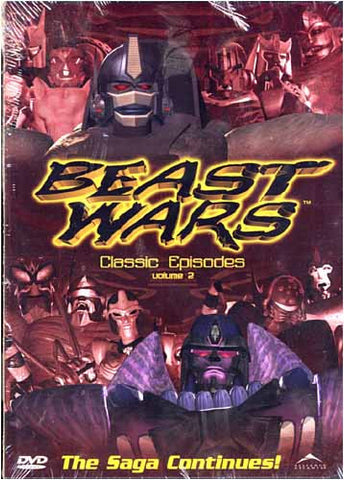 Beast Wars - Classic Episodes Vol. 2 DVD Movie