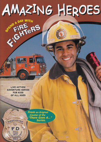 Amazing Heroes: Spend a Day with Firefighters DVD Movie