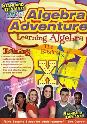 Standard Deviants - Algebra Adventure - LearningAlgebra The Basics DVD Movie